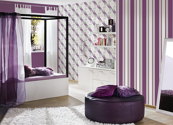kaja a s cr ation tapeten ag. Black Bedroom Furniture Sets. Home Design Ideas
